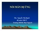 Bài giảng Y học cổ truyền: Nổi mẫn dị ứng - ThS. Nguyễn Thị Hạnh (ĐH Y khoa Thái Nguyên)