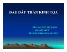 Bài giảng Y học cổ truyền: Đau dây thần kinh tọa - ThS. Nguyễn Thị Hạnh (ĐH Y khoa Thái Nguyên)