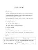 Giáo án Ngữ Văn 12 tuần 8 bài: Trả bài làm văn số 2