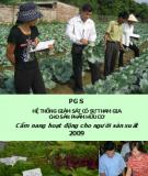 Cẩm nang hoạt động cho người sản xuất 2009: PGS hệ thống giám sát có sự tham gia cho sản phẩm hữu cơ - Phần 2