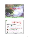 Bài giảng Thiên tai: Bão nhiệt đới - TS. Nguyễn Hữu Xuân