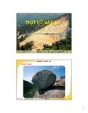 Bài giảng Thiên tai: Trượt lở đất đá - TS. Nguyễn Hữu Xuân