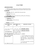 Giáo án Ngữ văn 12 tuần 8 bài: Luật thơ