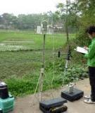Báo cáo quan trắc môi trường Qúy IV của mỏ than Na Dương xã Sàn Viên, huyện Lộc Bình, tỉnh Lạng Sơn