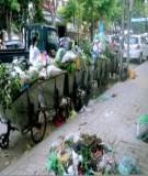 Báo cáo: Hiện trạng chất thải sinh hoạt huyện Đông Anh