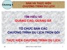 Bài giảng Nghiệp vụ kinh doanh lữ hành: Chương 4 - GV. Nguyễn Hoài Nhân