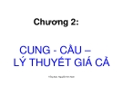 Bài giảng Kinh tế vi mô: Chương 2 - Nguyễn Kim Nam