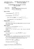 Đề thi chọn HSG lớp 9 môn Toán tỉnh Tiền Giang (kèm đáp án)