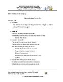 Đề thi nghề: Vẽ và thiết kế trên máy tính - Mô hình chi tiết và lắp ráp (Hộp truyền động)