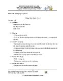 Đề thi nghề: Vẽ và thiết kế trên máy tính - Mô hình lắp rắp và phân rã (Mâm gá tháo nhanh)