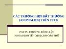 Bài giảng Thị trường tài chính: Chương 2 - PGS.TS. Trương Đông Lộc