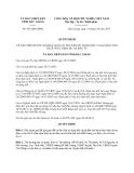 Quyết định 547/QĐ-UBND năm 2013