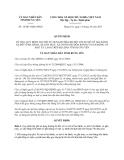 Quyết định 14/2013/QĐ-UNBD