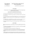 Quyết định 1691/QĐ-UBND năm 2013