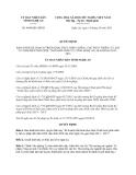 Quyết định 4660/QĐ-UBND năm 2013