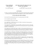 Quyết định 35/2013/QĐ-UBND tỉnh Nam Định