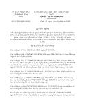 Quyết định 25/2013/QĐ-UBND tỉnh Đắk Lắk
