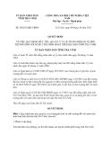 Quyết định 38/2013/QĐ-UBND tỉnh Trà Vinh