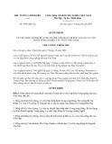 Quyết định 1854/QĐ-TTg năm 2013