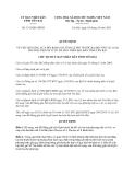 Quyết định 1315/QĐ-UBND năm 2013