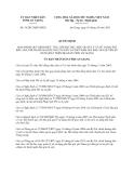 Quyết định 36/2013/QĐ-UBND tỉnh An Giang