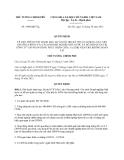 Quyết định 1980/QĐ-TTg năm 2013