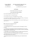 Quyết định 2182/QĐ-UBND năm 2013