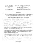 Quyết định 3732/QĐ-UBND năm 2013