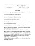 Quyết định 58/2013/QĐ-TTg
