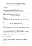 Đề cương ôn tập học kì 2 Vật lí 11 CB năm học 2012-2013 - THPT Thanh Khê