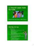 Bài giảng Lý thuyết hạch toán kế toán - GV: Đào Nam Giang, Lê Minh Phương