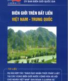 Biên giới Việt Nam - Đất liền Việt Nam và Trung Quốc: Phần 1