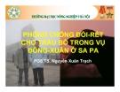 Bài giảng Phòng chống đói rét cho trâu bò trong vụ Đông - Xuân ở Sa Pa - PGS.TS. Nguyễn Xuân Trạch