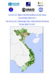Atlat các bệnh truyền nhiễm tại Việt Nam giai đoạn 2000-2011: Phần 1