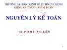 Bài giảng Nguyên lý kế toán: Chương 1 - GV. Phạm Thanh Liêm
