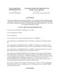 Quyết định 45/2013/QĐ-UBND thành phố Hà Nội