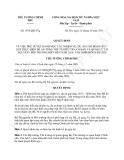 Quyết định 1876/QĐ-TTg năm 2013