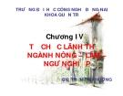 Bài giảng Địa lý kinh tế Việt Nam: Chương 4 - GV Trần Thu Hương