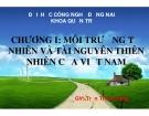 Bài giảng Địa lý kinh tế Việt Nam: Chương 1 - GV Trần Thu Hương