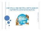 Bài giảng Thị trường chứng khoán: Chương 6 - Vũ Thị Thúy Vân