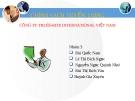 Thuyết trình: Chính sách tuyển dụng công ty Truss-rite international Việt Nam