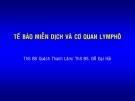 Bài giảng Tế bào miễn dịch và cơ quan Limphô – BS. Quách Thanh Lâm, BS. Đỗ Đại Hải