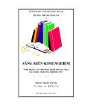 SKKN: Gợi động cơ cho học sinh trong việc dạy học chương trình con