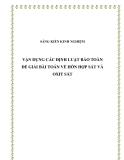SKKN: Vận dụng các định luật bảo toàn để giải bài toán về hỗn hợp sắt và oxit sắt