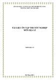 Tài liệu ôn tập thi tốt nghiệp môn Địa lý năm học 2012-2013 – THPT Thanh Khê