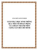 SKKN: Giáo dục học sinh thông qua một số hoạt động của Đoàn Thanh niên Cộng sản Hồ Chí Minh