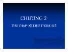 Bài giảng Nguyên lý thống kê: Chương 2 - GV. Hà Văn Sơn