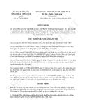 Quyết định 2137/QĐ-UBND năm 2013