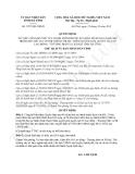 Quyết định 3297/QĐ-UBND năm 2013