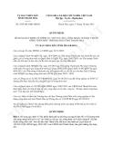 Quyết định 3655/2013/QĐ-UBND